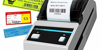 Buying a label printer that meets your small business needs